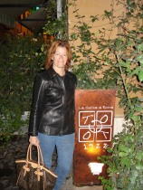 Carol Dekkers in Rome